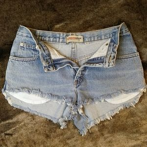 LONDONJEAN Cutoff Denim shorts Size 6